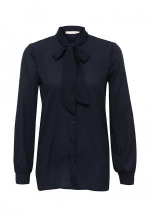 Блуза NewLily. Цвет: синий