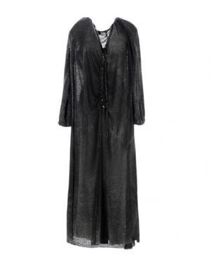 Длинное платье UN-NAMABLE. Цвет: стальной серый