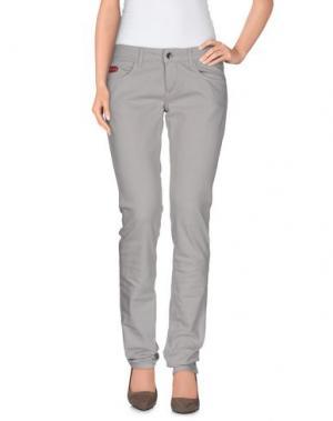 Джинсовые брюки UNLIMITED. Цвет: светло-серый