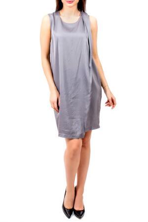 Платье EUROPEAN CULTURE. Цвет: серый