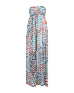 Длинное платье GIORGIA & JOHNS. Цвет: небесно-голубой
