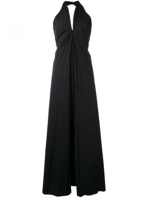 Halterneck jumpsuit Federica Tosi. Цвет: чёрный