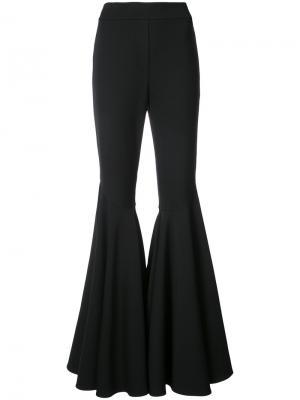 Расклешенные брюки Alexis. Цвет: чёрный