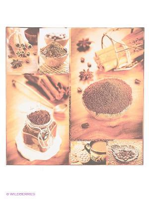 Art Холст Пряный кофе DECORETTO. Цвет: коричневый, бежевый, белый