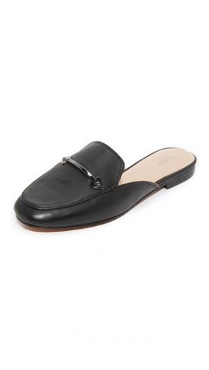 Туфли без задников Claire Botkier. Цвет: голубой