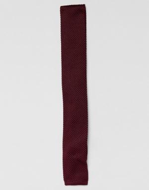 MOSS BROS Трикотажный галстук London. Цвет: фиолетовый