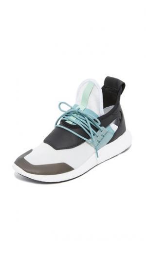 Кроссовки для бега  Elle Boost Y-3. Цвет: бледно-стальной/черный/розово-зеленый