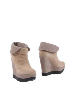 Ботинки CHON. Цвет: бежевый