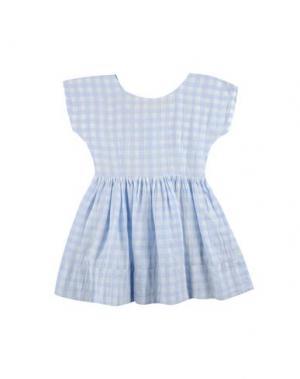 Платье MORLEY. Цвет: небесно-голубой