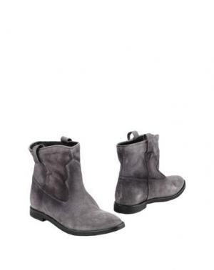 Полусапоги и высокие ботинки LEONARDO PRINCIPI. Цвет: серый