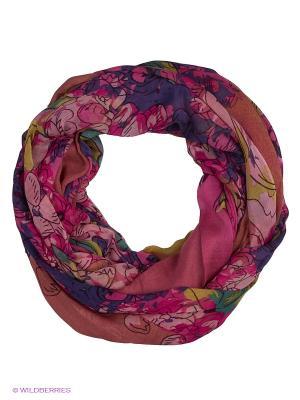 Палантин Eleganzza. Цвет: фиолетовый, розовый, желтый