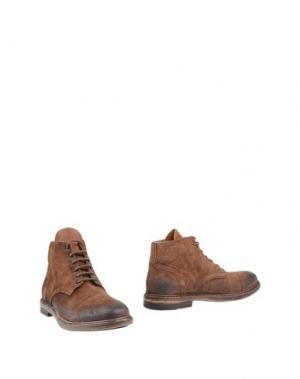 Полусапоги и высокие ботинки CORVARI. Цвет: хаки