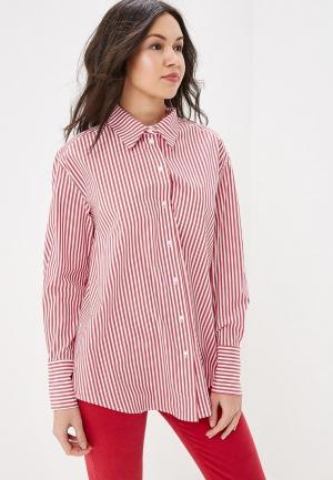 Рубашка Lime. Цвет: красный