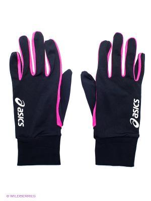 Перчатки Basic Glove ASICS. Цвет: розовый
