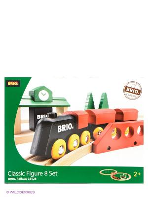 Железная дорога BRIO. Цвет: белый, зеленый