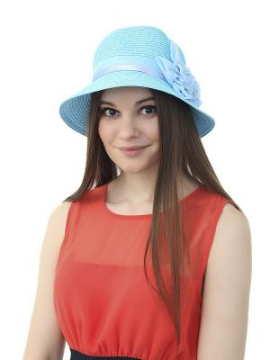 Шляпа Gusachi. Цвет: голубой, сиреневый