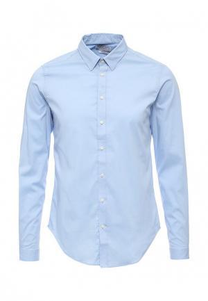 Рубашка Alcott. Цвет: голубой