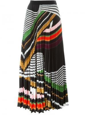 Плиссированная юбка Pelar Mary Katrantzou. Цвет: многоцветный
