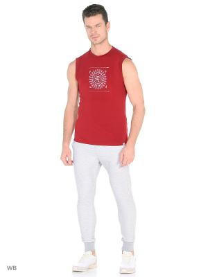 Майка yogadress. Цвет: темно-красный