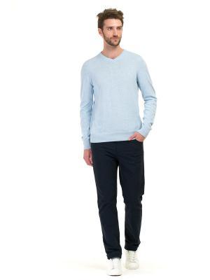 Пуловер Baon. Цвет: светло-голубой