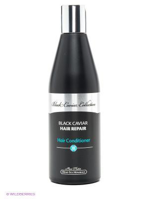 Восстанавливающий кондиционер для волос Black Caviar Collection Mon Platin DSM. Цвет: черный