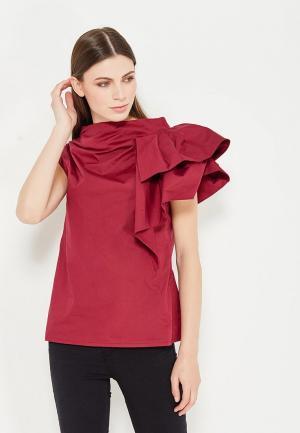 Блуза Lolita Shonidi. Цвет: бордовый