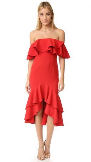 Платье Sasha Fame and Partners. Цвет: красный