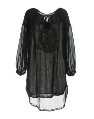 Блузка SETE DI JAIPUR. Цвет: черный