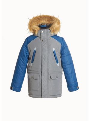 Куртка для мальчика AVESE. Цвет: светло-серый