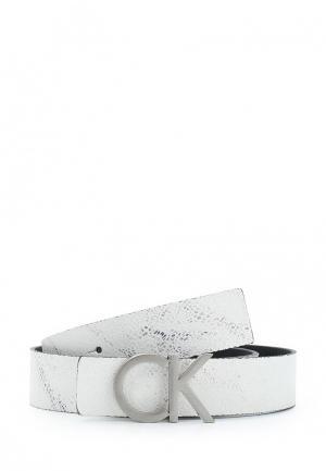 Ремень Calvin Klein Jeans. Цвет: белый