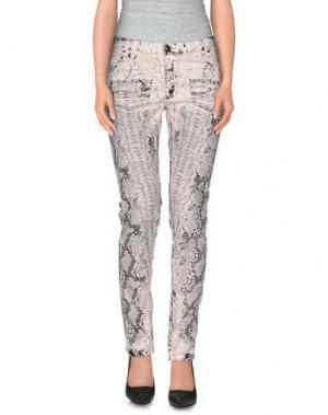 Повседневные брюки TOM REBL. Цвет: слоновая кость