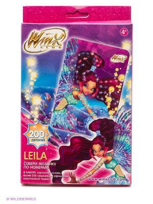 Winx Мозаика -сингл Leila Чудо-творчество. Цвет: розовый, голубой, фиолетовый