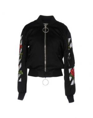 Куртка OFF-WHITE™. Цвет: черный