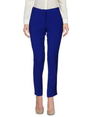 Повседневные брюки MAESTA. Цвет: ярко-синий
