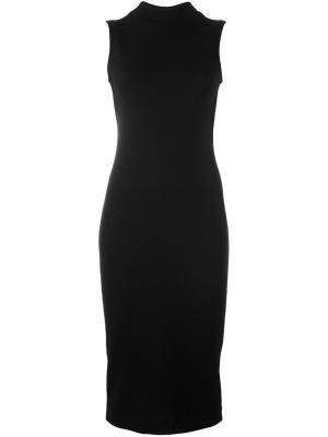 Вязаное платье Brunello Cucinelli. Цвет: чёрный