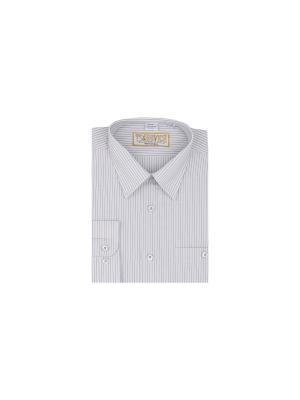Рубашка Tsarevich. Цвет: серый
