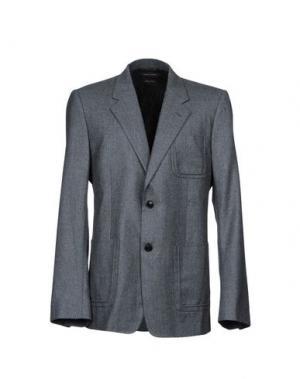 Пиджак MARC JACOBS. Цвет: свинцово-серый