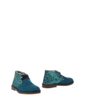 Полусапоги и высокие ботинки SGN GIANCARLO PAOLI. Цвет: цвет морской волны