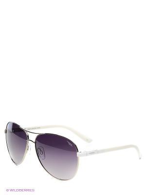 Солнцезащитные очки Legna. Цвет: серебристый, белый