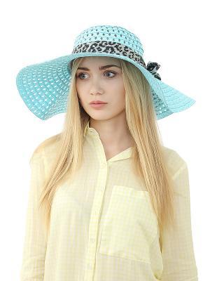 Шляпа Gusachi. Цвет: голубой, черный, серый