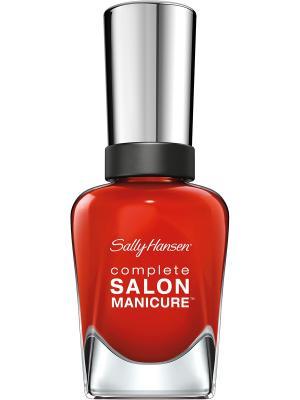 Лак для ногтей тон new flame  554 14,7 мл SALLY HANSEN. Цвет: рыжий