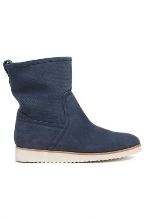 Ботинки Alba. Цвет: голубой