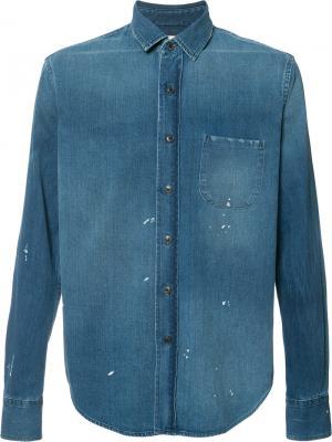 Джинсовая рубашка Simon Miller. Цвет: синий