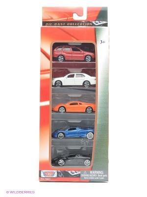 Коллекционные машинки Motormax Набор C. Цвет: красный