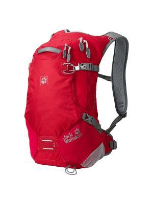 Рюкзак ACS STRATOSPHERE 15 PACK Jack Wolfskin. Цвет: красный
