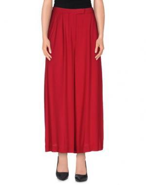 Повседневные брюки PINKO UNIQUENESS. Цвет: красный