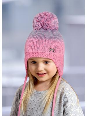 Шапка детская ESLI. Цвет: розовый