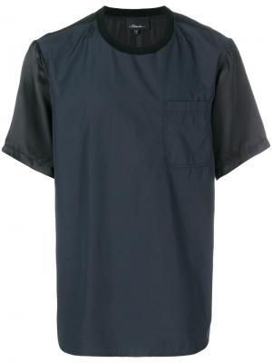 Color-blocked T-Shirt 3.1 Phillip Lim. Цвет: синий