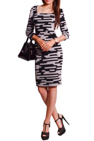 Платье FRANCESCA LUCINI. Цвет: лабиринт