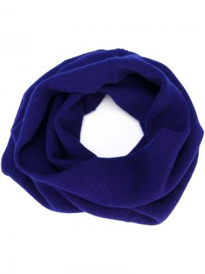 Шарф NO8 Extreme Cashmere. Цвет: синий